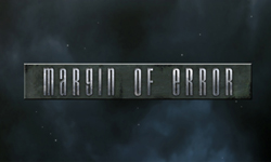Logo design for Margin of Error Unreal modification. Created with Adobe Photoshop.